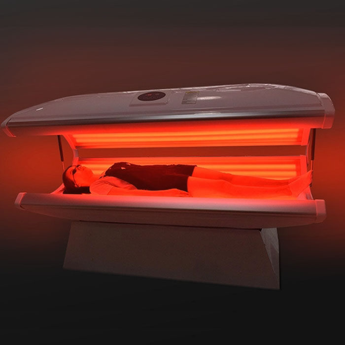 Red light therapy capsule
