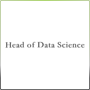Head of Data Science