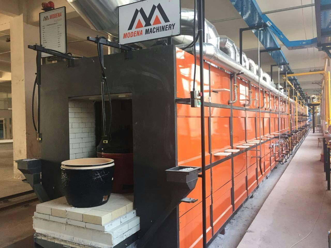 陶瓷烧烤炉生产线