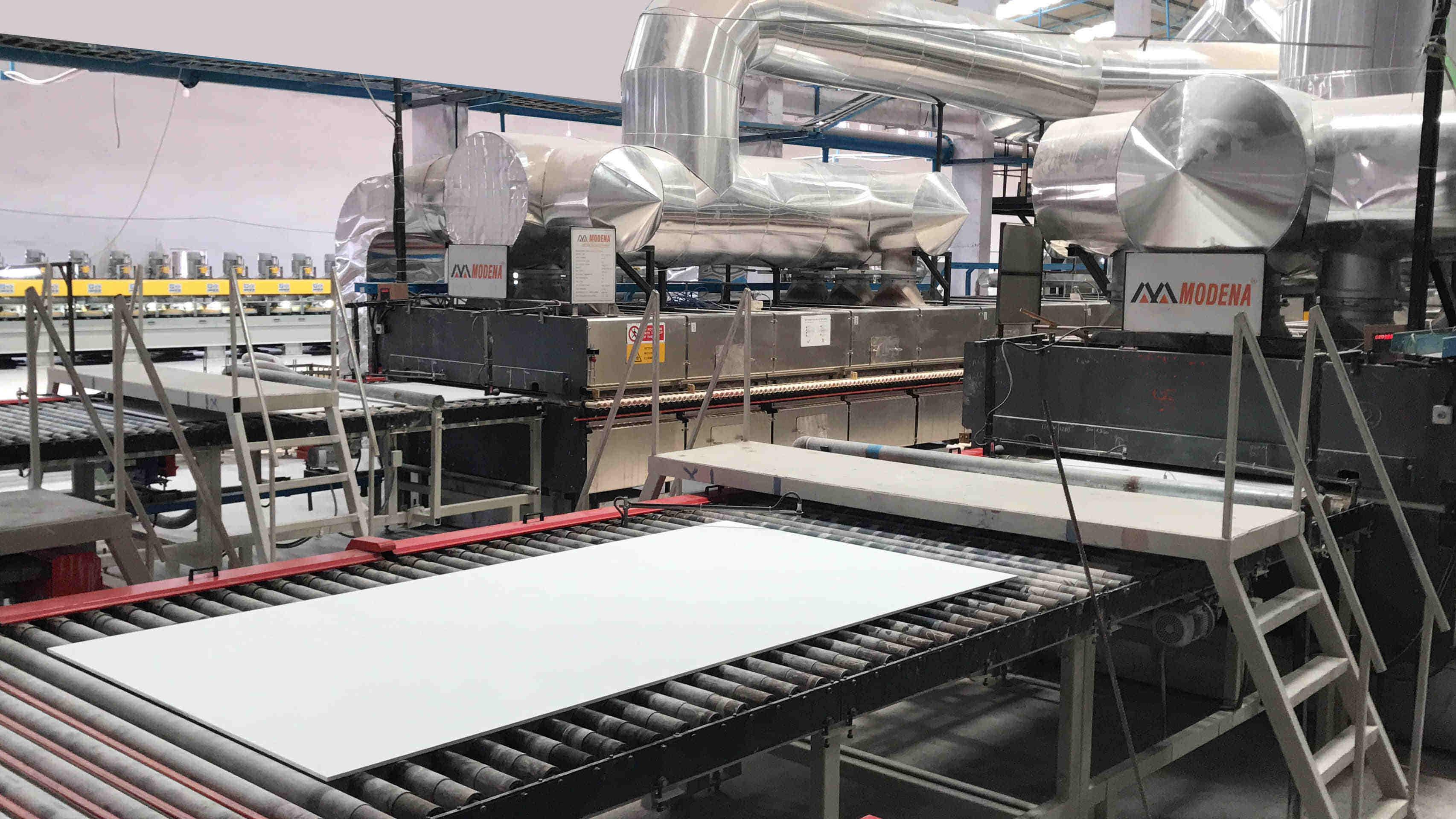 大规格岩板生产线