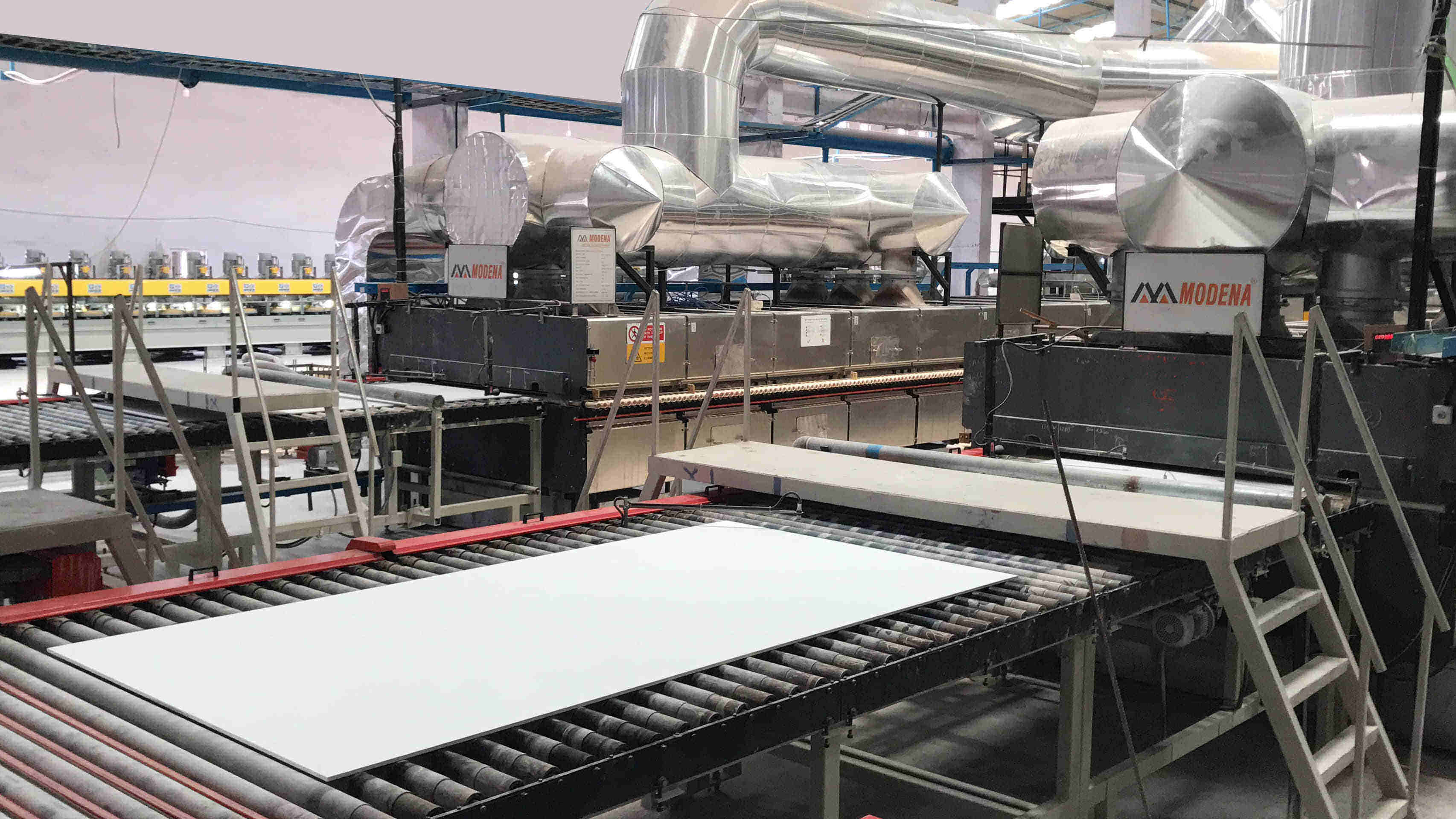 Large Size Ceramic Slab Production Line