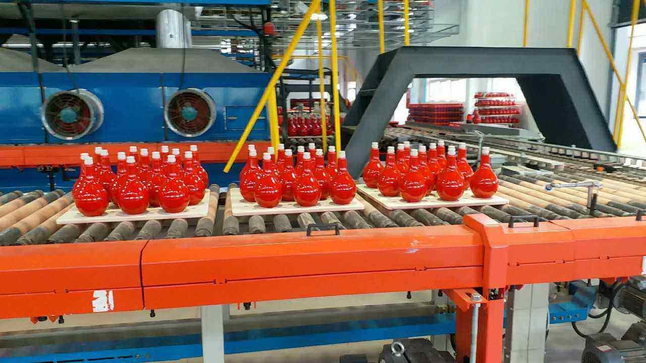 wine bottle production line