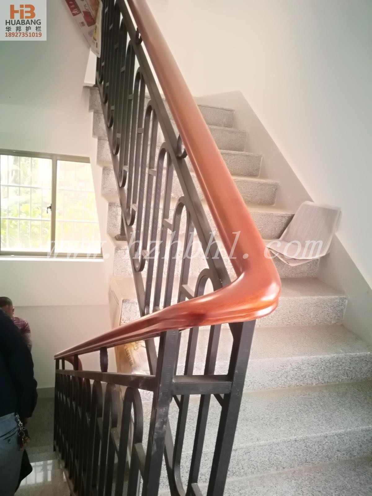 鋅鋼樓梯欄桿006