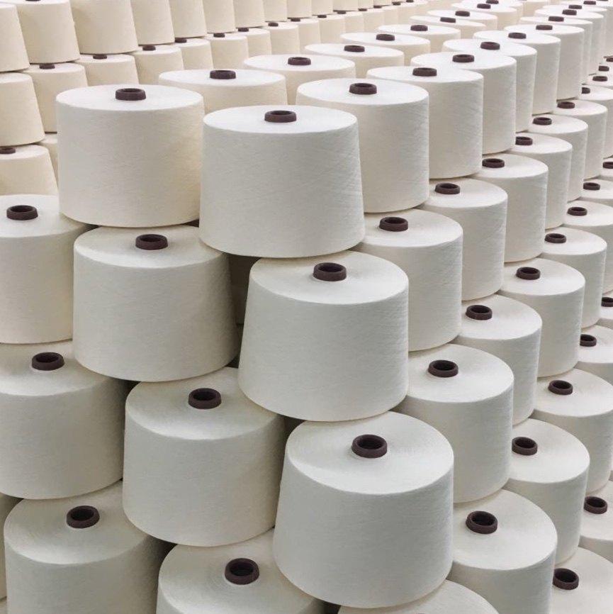粘棉混纺纱