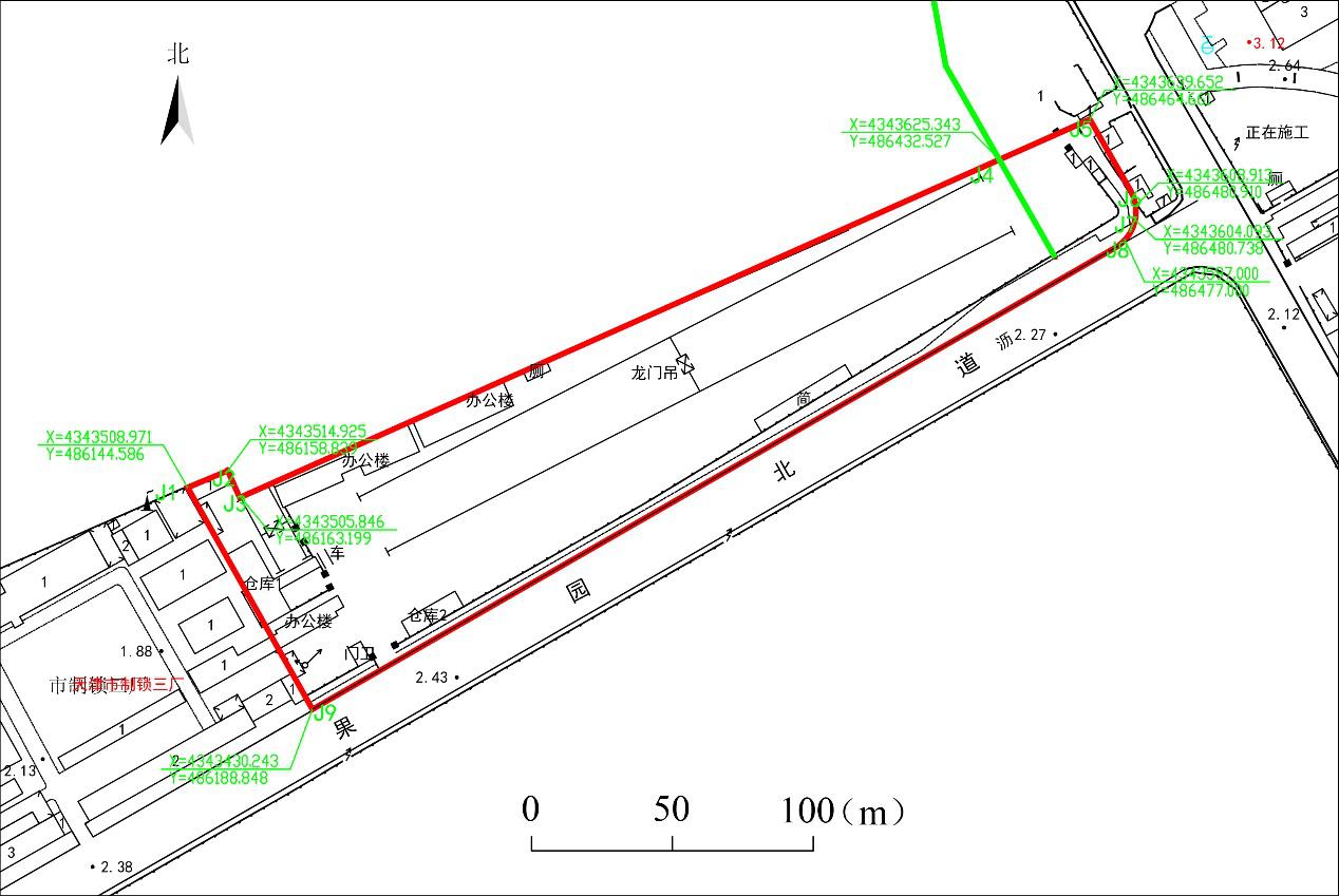 天津市機電設備工程成套有限公司果園倉庫地塊土壤污染狀況調查報告(公示版)