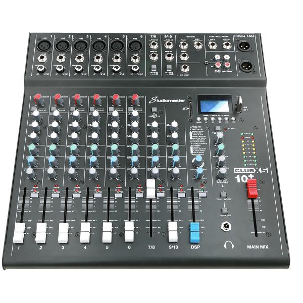 10路模拟调音台  CLUB XS10