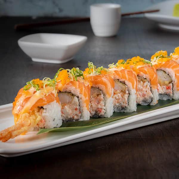 Salmon King Roll