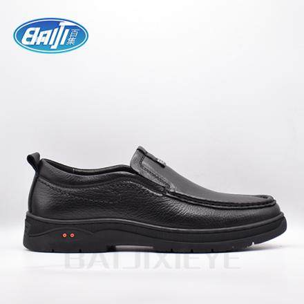 防静电男单皮鞋BJ853
