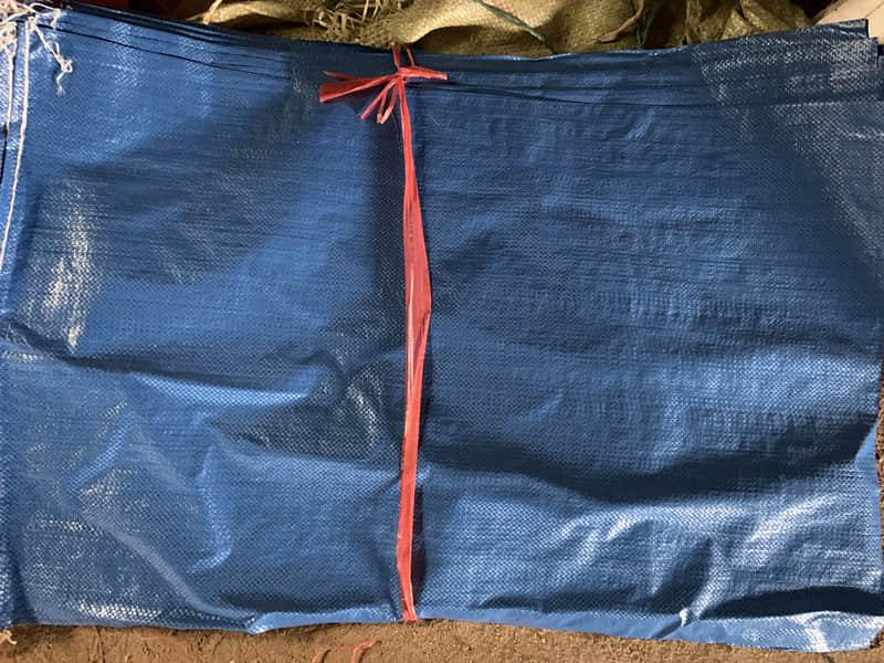 编织袋小包(蓝色)