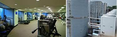健身房热水工程解决方案