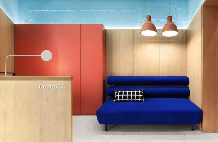 38平方米的儿童诊所巧设计,消除儿童对医生的恐惧