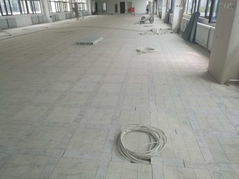 工程塑料网络地板在写字楼办公楼中的应用