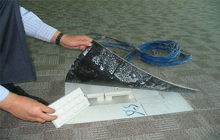 网络地板的施工要点 网络地板的维护与保养